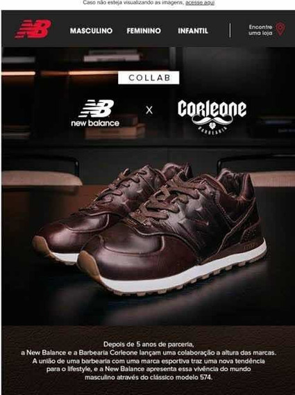Tênis New Balance 574 Corleone | Casual | Série Limitada