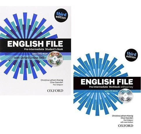 English File Pre Intermediate Student´s Book And Workbook