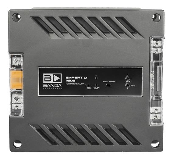 Módulo Amplificador Banda Expert 1602 1600 Wrms 2 Canais