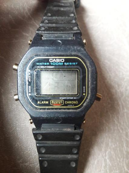 Relógio Antigo Mini G-shock Casio Dw-500 Leia A Descrição
