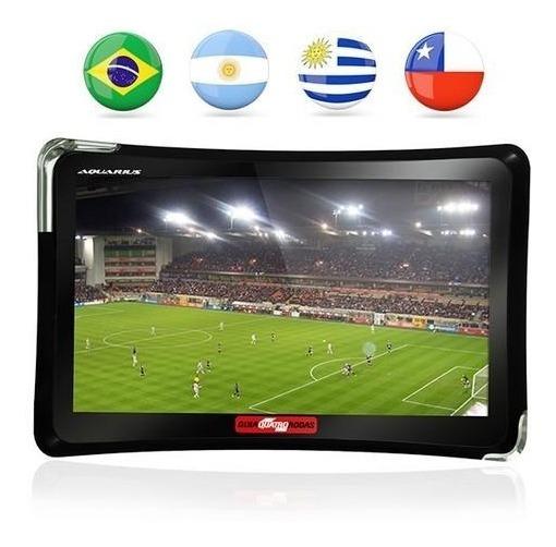 Gps Automotivo Quatro Rodas 4.3 Polegadas Tv Digital Nf