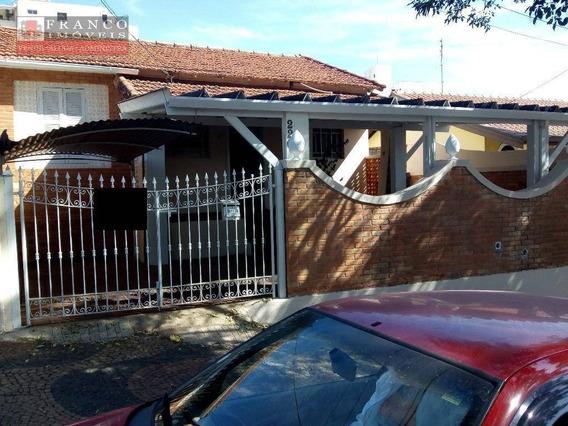 Casa Residencial Para Locação, Vila Coqueiro, Valinhos. - Ca0271