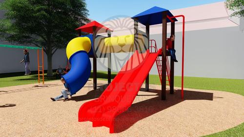 Projeto 3d De Playground E Brinquedos Para Parques E Praças