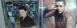 2 Discos De Alejandro Sanz Por Solo$50 Pesos!!