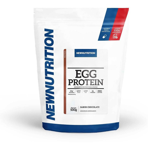 Egg Protein Newnutrition 500g Chocolate