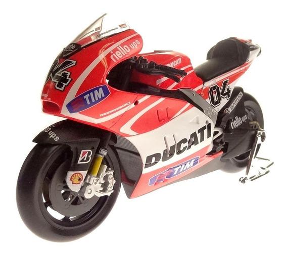 Miniatura Moto Ducati Desmosedici Gp13 Andrea Dovizioso 1/10