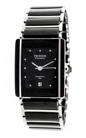 Relógio Technos Feminino Cerâmica Safira 1n12acpai/1p