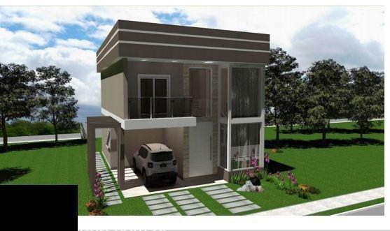 Casa Em Condomínio Com 03 Dormitório(s) Localizado(a) No Bairro Lucchesi Em Gravatai / Gravatai - 1005