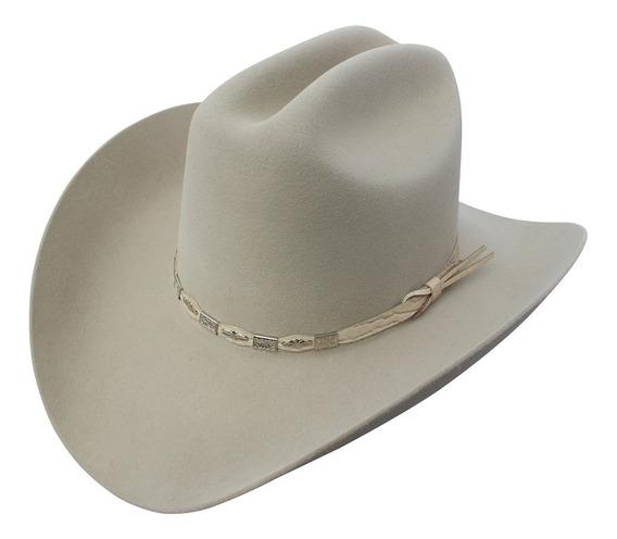 Sombrero Texana Goldstone Beige Sonora 100% Pelo De Conejo
