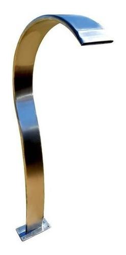 Imagem 1 de 2 de Cascata Slim 70 Cm Aço Inox 304 Sem Juros + Brinde