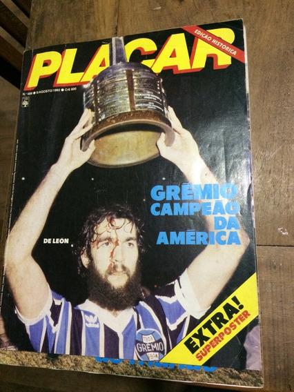 Revista Placar Número 689 - Grêmio Campeão Da América 1983