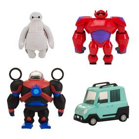 Conjunto De Figuras - Big Hero 6 - Squich To Fit - Baymax -