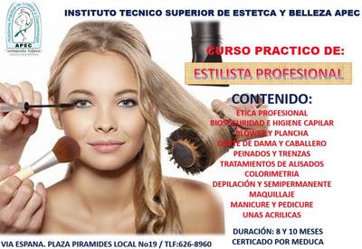 Curso De Estilista Profesional