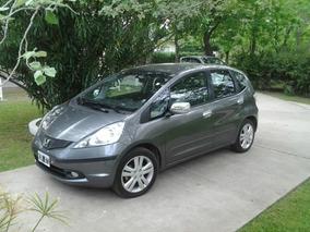 Honda Fit 1.5 Ex-l At 120cv L12 1 Mano Serv Oficiales