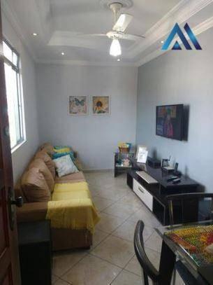Apartamento Com 1 Dormitório À Venda, 65 M² Por R$ 185.000 - Vila Valença - São Vicente/sp - Ap0287