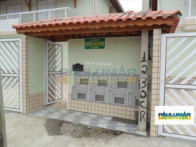 Sobrado Em Mongaguá Bairro Jardim Praia Grande - V6502