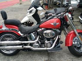 Harley Davidson / Flstf Em Excelente Estado. Sem Detalhes