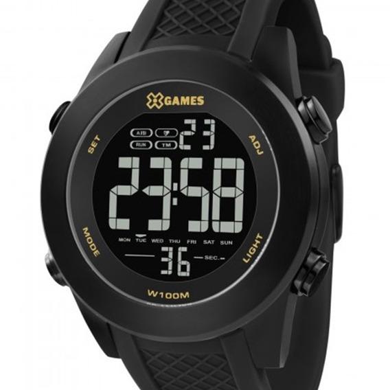 Relógio Masculino Digital Preto X-games Caixa Aço Xmnpd001