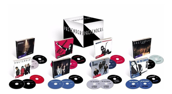 Pretenders 1979-1999 - Box C/ 14 Cds E 8 Dvds Pronta Entrega