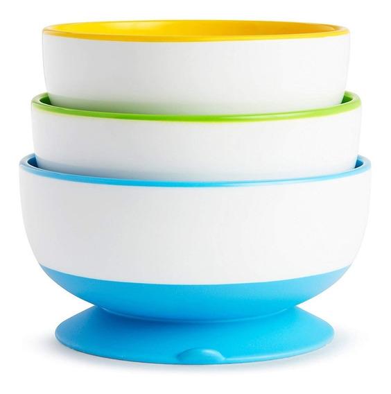 Platos Para Bebes De Succión Munchkin - Multicolor
