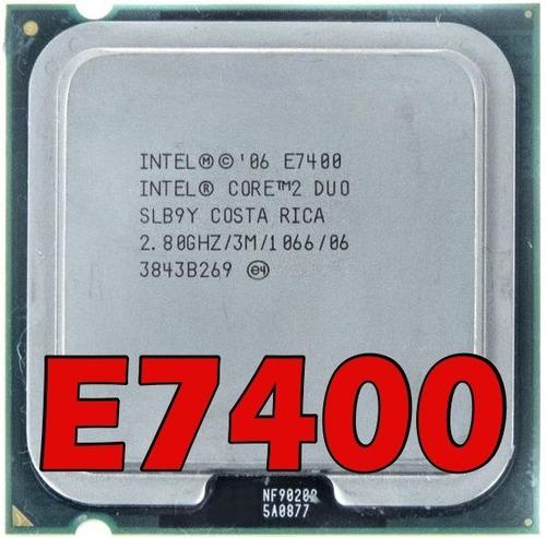 Imagem 1 de 5 de Processador Intel Core 2duo E7400 2.80ghz Cache 3m Fsb 1066