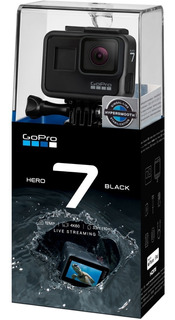 Gopro Hero 7 Black 4k Ultra Hd 60 Fps 12mp Chdhx-701-rw