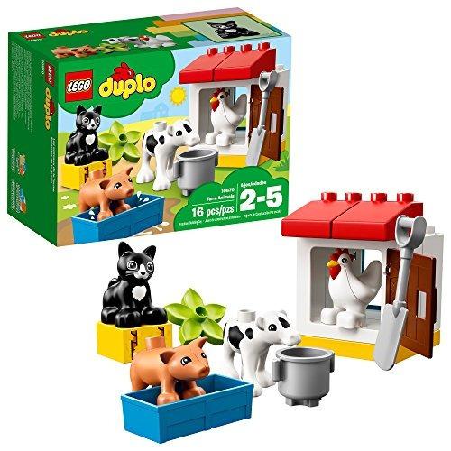 Lego Duplo Town Farm Animals 10870 Kit De Construcción De 16