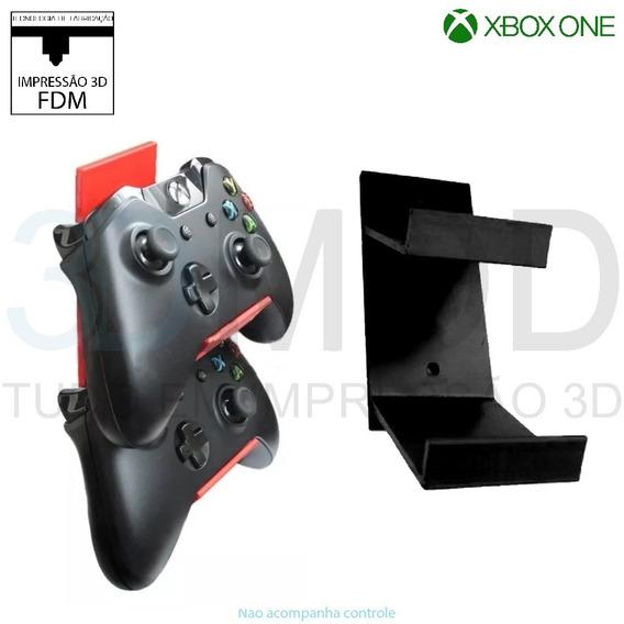 Suporte Dois Controles Xbox One De Parede