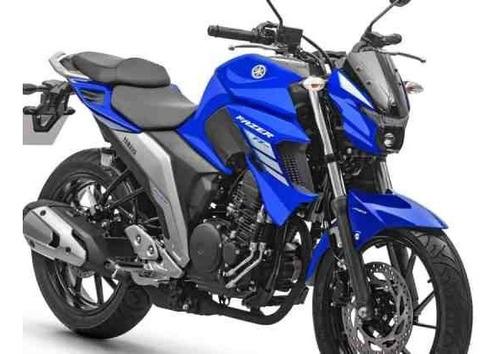 Imagem 1 de 4 de Fazer 250 Abs 2022 Yamaha 0km Azul