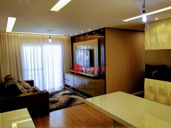 Apartamento Com 3 Dormitórios À Venda, 88 M² Por R$ 530.000,00 - Jardim Estoril - São José Dos Campos/sp - Ap3649