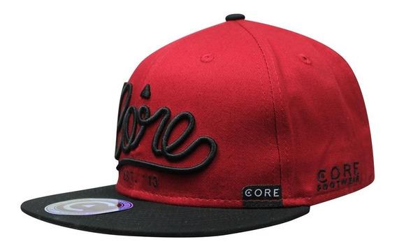 Gorra Snapback Core Est 13 Cursiva Negro