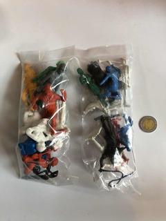 Soldaditos Y Romanos Figuritas Plástico Bootleg Mexicano 90s