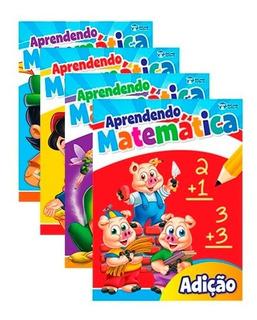 Aprendendo Matemática 4 Livros Personagens Clássicos Ensinam
