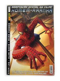 Revista Em Quadrinhos Homem Aranha Adaptação Do Filme 2002
