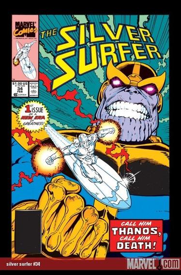 Hqs Surfista Prateado - O Retorno De Thanos