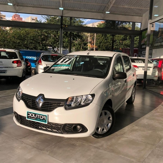 Renault Sandero 2017 12v Autenthique 1.0 Completo 17