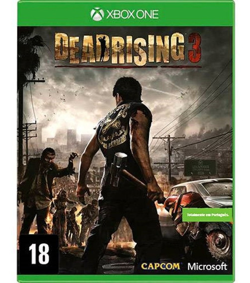 Jogo Dead Rising 3 Xbox One Mídia Física Dublado Português
