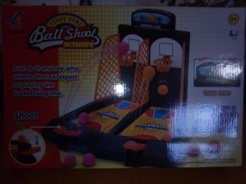 Juego De Mesa Cancha Basketball Pinball