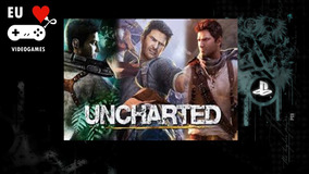 Trilogia Uncharted 1 2 E 3 Playstation 3 Psn