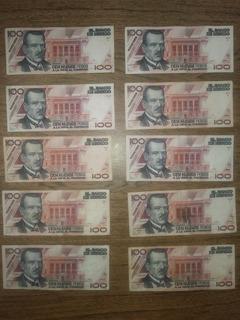 Billetes Cien Nuevos Pesos (100 Np) Plutarco Elías Calles