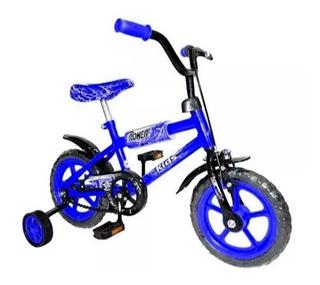 Casco + Bicicleta R12 Reforzada Envio Gratis