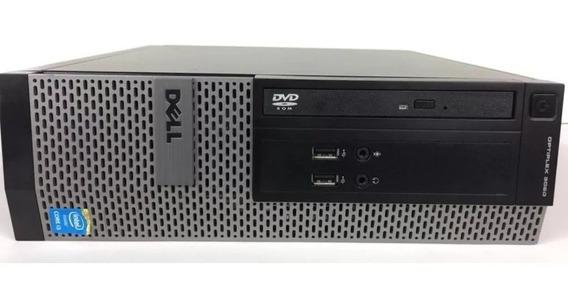 Desktop Cpu Dell Optiplex 3020 I3 4gb Hd 256gb Ssd