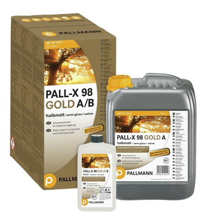 Hidrolaqueado Pallmann-x 98 Gold 5,5 Lts Tránsito Extremo