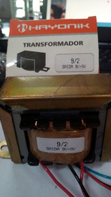 Transformador 9/2 Saida 9+9v