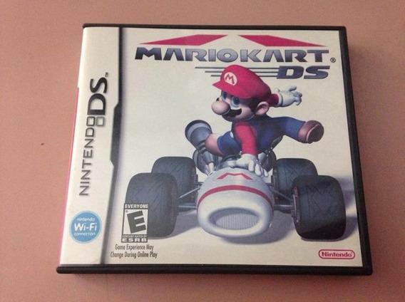Mario Kart Nintendo Ds Completo Caixa Manuais R$199,98
