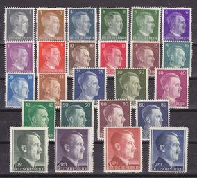 Reich - 1941-1942 - Série Completa Sem Carimbo - Hitler