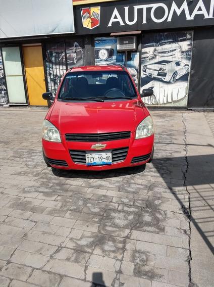 Chevrolet Chevy 3 Puertas, Modelo 2010, Color Rojo