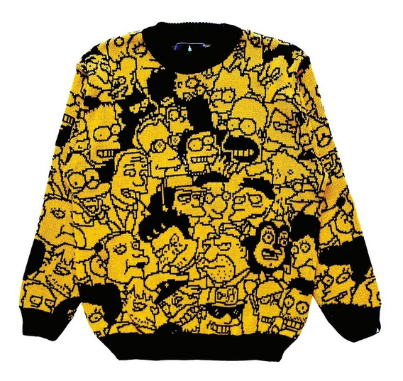Springfield Simpsons Oficial Sweater Hombre Y Mujer Tifn