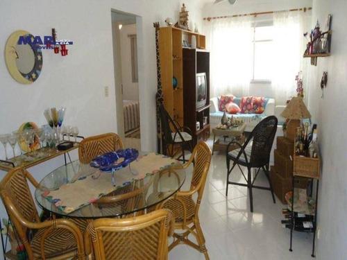 Imagem 1 de 10 de Apartamento Residencial À Venda, Barra Funda, Guarujá - . - Ap6265
