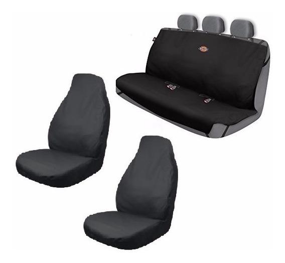 Kit De 3 Cubreasientos Protector De Lona Dickies Autos